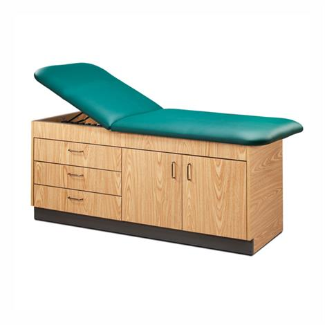 Clinton Eco-Friendly Cabinet Style Treatment Table with Drawers and Storage Area