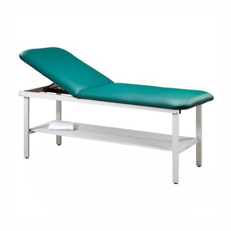 Clinton Eco-Friendly Steel Treatment Table with Shelf
