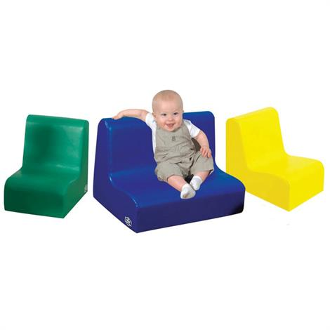 Childrens Factory Little Tot Primary 3 Piece Contour Seating