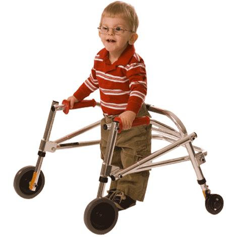 Kaye Posture Control Four Wheel Walker For Small Children