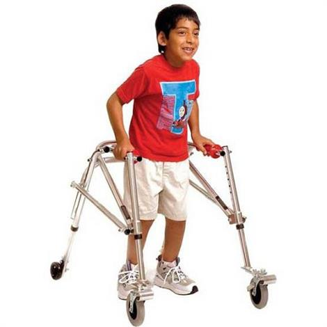 Buy Kaye Posture Control Four Wheel Walker With Installed Silent Rear Wheel For Adolescent