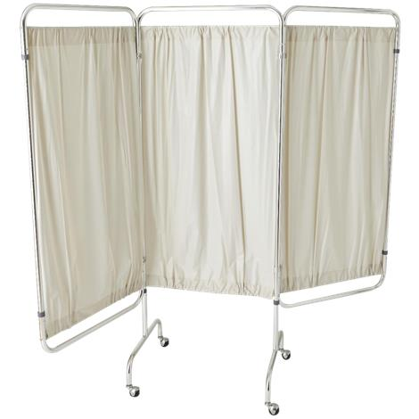 Medline Three-Panel Vinyl Privacy Screen