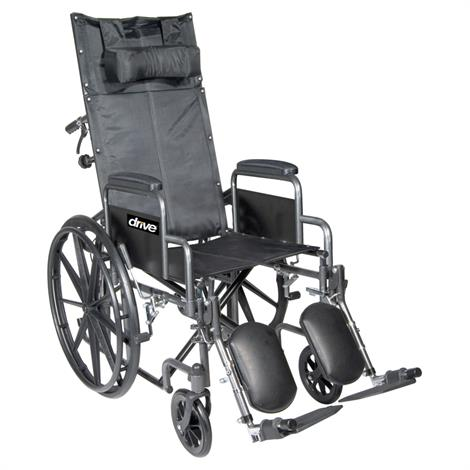 Buy Drive Silver Sport Full Reclining Wheelchair