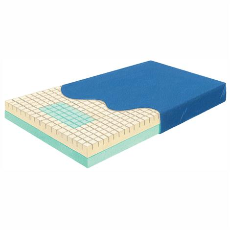 Skil-Care Pressure-Check Mattress With Perimeter-Guard And LSII Cover