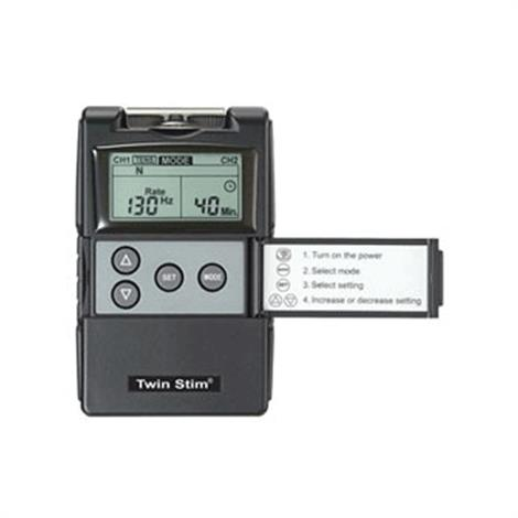 Twin-Stim Combo TENS And EMS Digital Unit With Timer