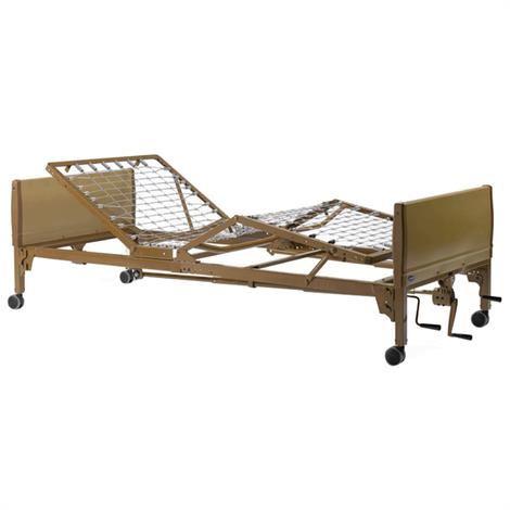 Buy Invacare IVC Manual Home Care Bed Package With Innerspring Mattress And Full-Length Bed Rails