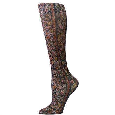 Complete Medical Black Versache Knee High Compression Socks