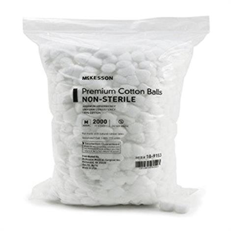 McKesson Non-Sterile Cotton Balls