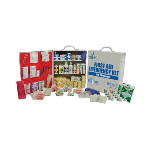 Complete Medical 50 Person First Aid Metal Case Emergency Kit
