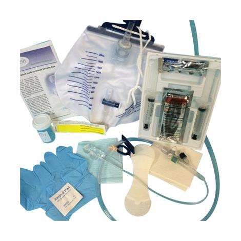 Poiesis Duette Dual-Balloon Two-Way Foley Catheter Kit