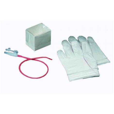 Bard Bronchial Suction Latex Red Rubber Catheter Kit