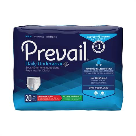 Prevail Underwear For Men - Maximum Absorbency