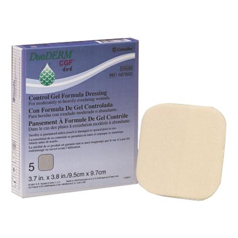 ConvaTec DuoDERM CGF Sterile Dressing - 6 x 8 inch - Rectangle - 187643