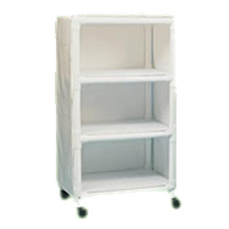 Duralife Mini Linen Cart With Removable Shelves