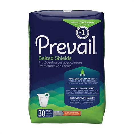 Prevail Belted Shields - Extra Absorbency