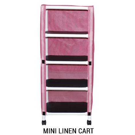 MJM International Echo Four Shelf Linen Cart