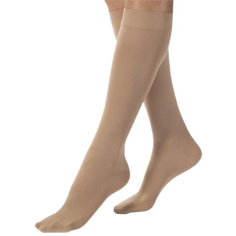 BSN Jobst Large Closed Toe Knee High 30-40mmHg Extra Firm Compression Stockings in Petite