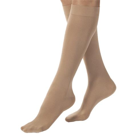 BSN Jobst Medium Opaque Closed Toe Knee High 20-30 mmHg Firm Compression Stockings