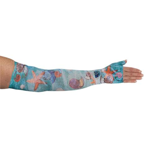 LympheDivas Sea Breeze Compression Arm Sleeve And Gauntlet