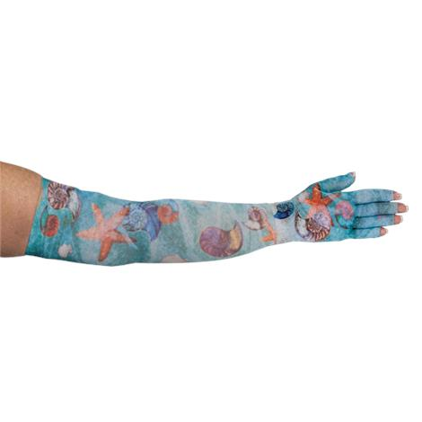 LympheDivas Sea Breeze Compression Arm Sleeve And Glove