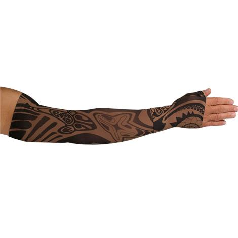 LympheDivas Fierce Mocha Compression Arm Sleeve And Gauntlet