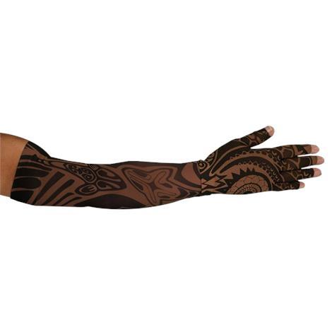 LympheDivas Fierce Mocha Compression Arm Sleeve And Glove