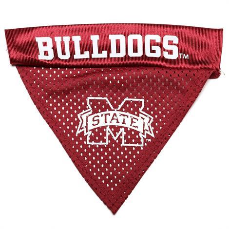 Pet Goods Mississippi State Bulldogs Dog Collar Bandana