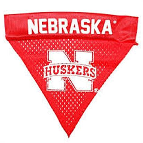Pet Goods Nebraska Huskers Dog Collar Bandana