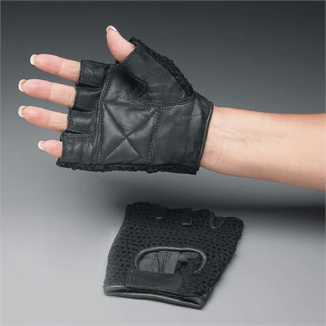 Mesh Back Padded Gloves