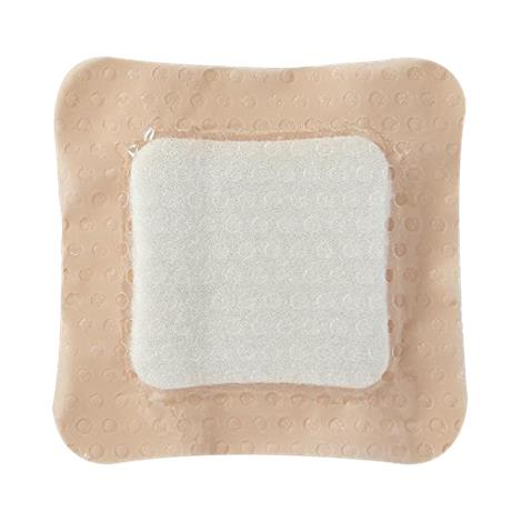 Medline Optifoam Gentle Silicone Faced Foam and Border Dressing with Liquitrap Core