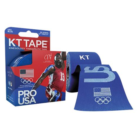 KT Tape Pro Team USA Blue Olympic Elastic Sports Tape