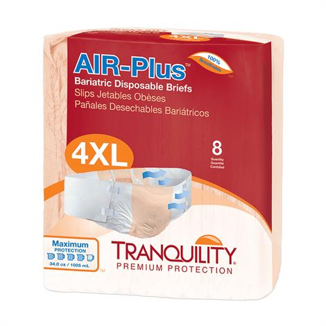 Tranquility Bariatric Air-Plus Disposable Brief