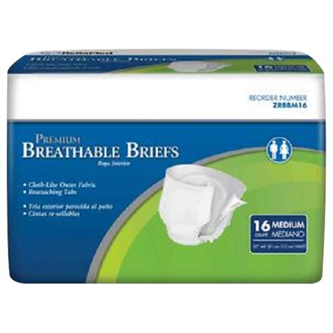 Cardinal Health Moderate Absorbency Breathable Briefs