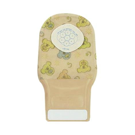 ConvaTec Little Ones One-Piece Cut-To-Fit Transparent Drainable Pouch With Stomahesive Skin Barrier