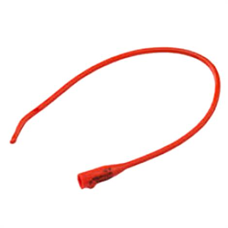 Covidien Red Rubber Coude Tip Urethral Catheter