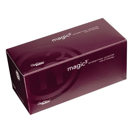 Bard Magic3 Antibacterial Hydrophilic Male Catheter with Sure-Grip and Insertion Supply Kit