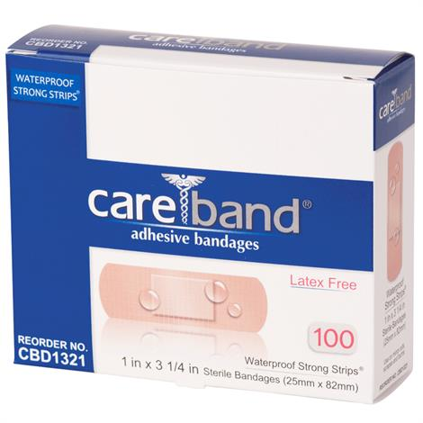 ASO Careband Waterproof Strong Bandage Strips