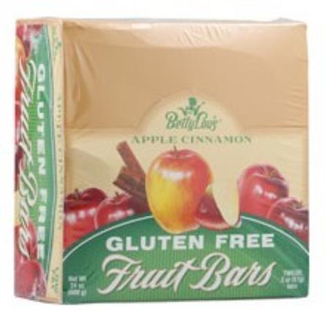Betty Lous Apple Cinnamon Fruit Bars