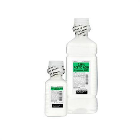 Buy ICU Medical Acetic Acid Irrigation, USP Solutions