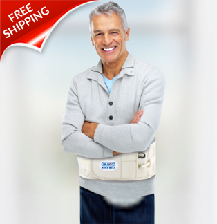 DR-HO 2-in-1 Back Decompression Belt