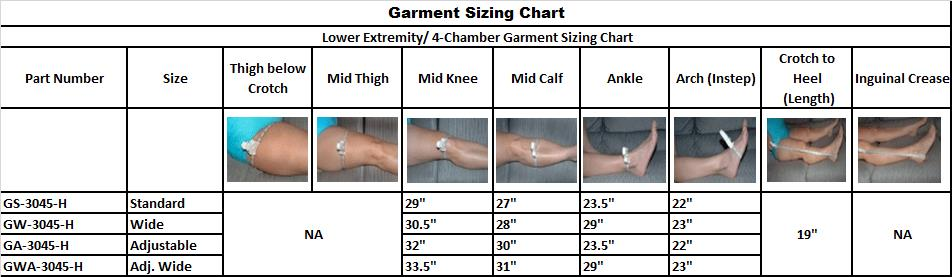 Stockings Comparision Chart