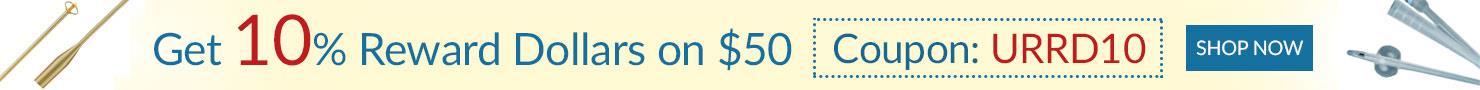 GET 10% REWARD $ on $50, Use Coupon - URRD10