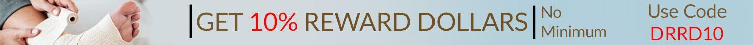 GET 10% REWARD $ - No Minimum, Use Coupon DRRD10