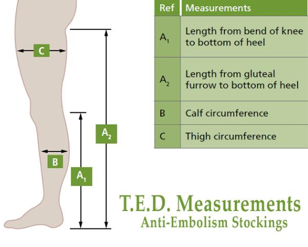 Covidien Kendall TED Knee High Anti-Embolism Stockings