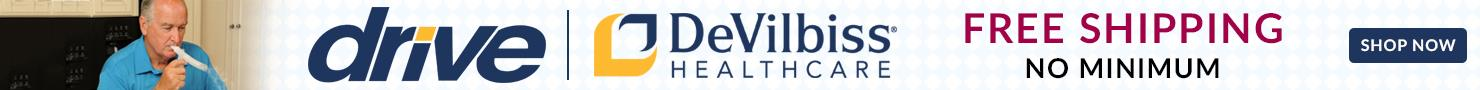 Free Shipping No Minimum on Drive Devilbiss Nebulizer