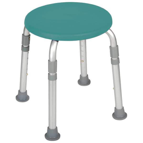 Drive Knock Down Adjustable Height Bath Stool By Drive